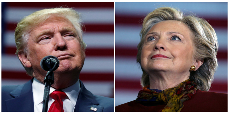 La confrontación electoral entre Donald Trump y Hillary Clinton fue parte del marketing político.