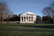 The rotunda on campus at the University of Virginia in Charlottesville, Virginia, where the discredited rape story allegedly took place.