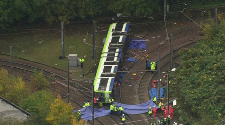Accidente ferroviario enluta a Londres