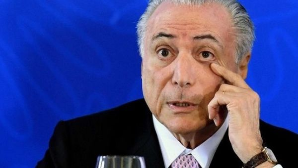 President Temer proposed the constitutional reform that will cut the budget for education and health in Brazil.