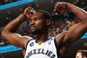 Memphis Grizzlies guard Tony Allen in 2013, whose team reportedly plans to stop staying in Trump-branded hotels.
