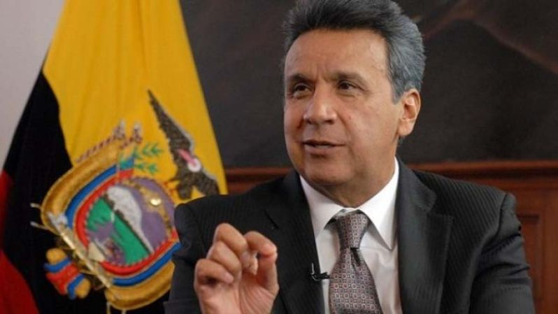 So far, Lenin Moreno is leading in the polls.