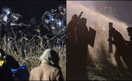 Dakota Pipeline Protests Face Harsh Repression in Freezing Cold