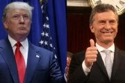 Donald Trump and Mauricio Macri.