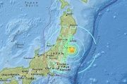 The Earthquake struck off the coast of Japan and prompted massive evacuations amid major tsunami threats.