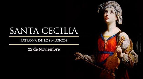 Santa Cecilia es una de las santas más veneradas por la Iglesia católica.