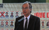 Minister of the Interior, Carlos Basombrio, responds to the claims of rise in crime.