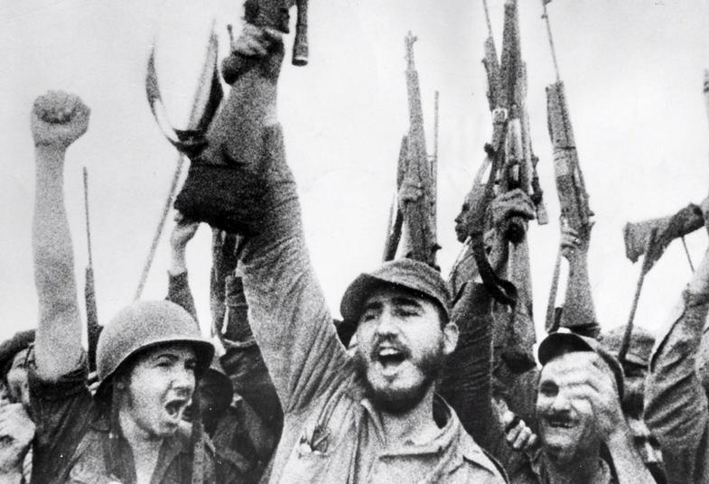 After a three-year guerrilla war against Batista