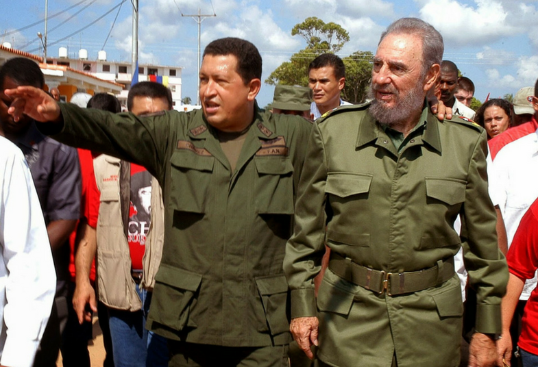 Fidel was vital in the upsurge of left-wing governments in Latin America, beginning with Hugo Chavez in Venezuela in 1998.