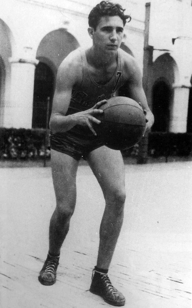 As a youth, Fidel took an interest in sports, something that he would retain for rest of his life. He also became politically involved as a student, campaigning for the presidency of the Federation of University Students and later traveling to the Dominican Republic to support anti-Trujillo movements as well to Colombia for a continental meeting of students.