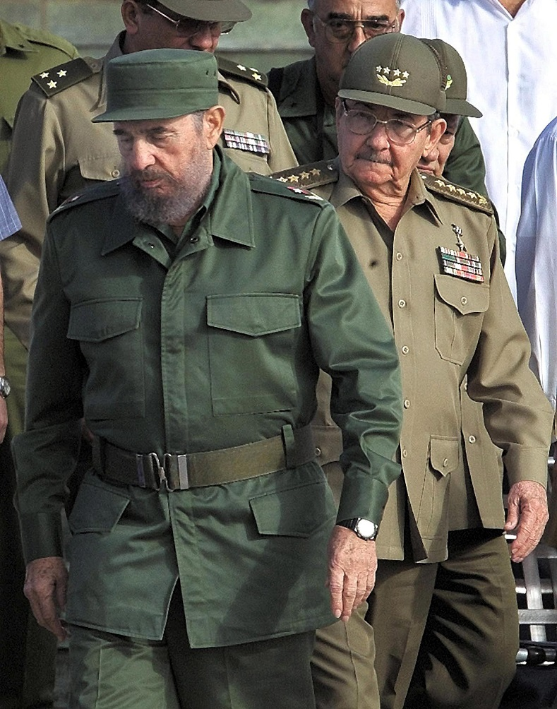Raul Castro, head of the Armed Forces, was elected President of the Council of Ministers after Fidel