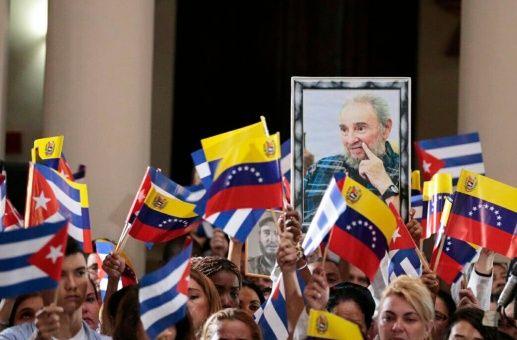 Tributo venezolano a Fidel