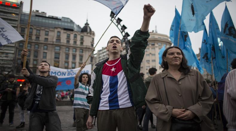 Argentina también ha sido escenario de sentidas actividades en homenaje a quien luchó por la libertad de los pueblos.