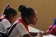 The Cuban Revolution has ensured every child has a human right to free, quality education.