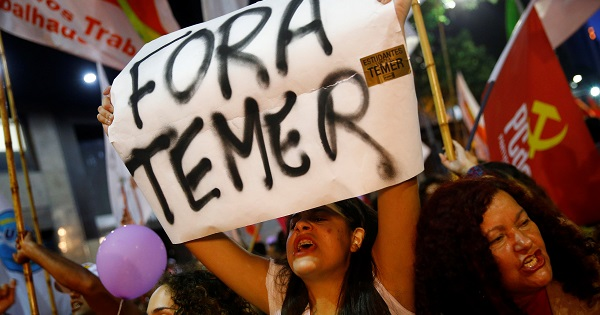 Dirigente de MST: Urge elegir un nuevo presidente de Brasil