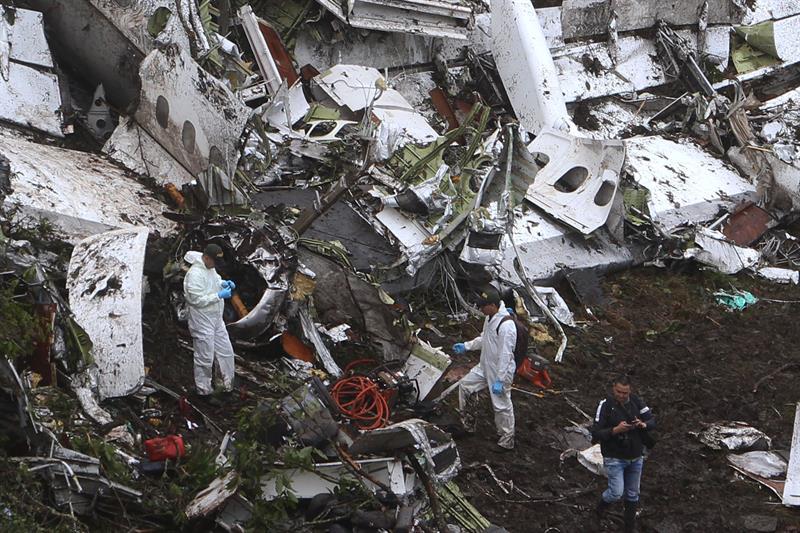 Revelan última conversación entre torre de control y piloto de avión del Chapecoense