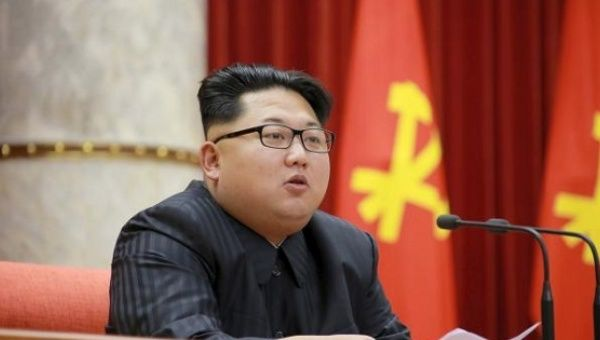 North Korean Leader Kim Jong Un, Dec. 29, 2015.