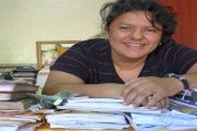 Indigenous leader and environmental activist Berta Caceres