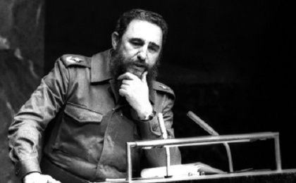 Fidel Castro was one of the first world leaders to talk about the importance of the environment