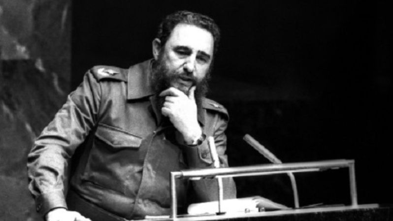 Fidel was one of the first world leaders to talk about the importance of the environment