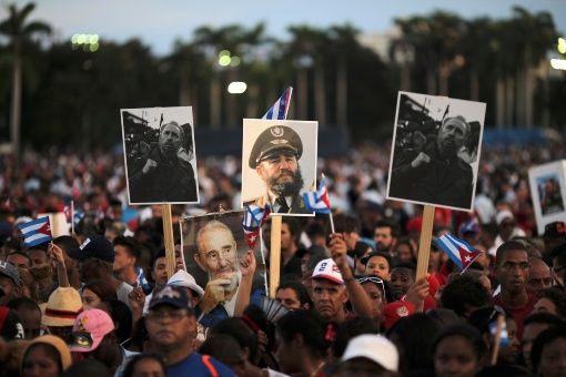 Desde los nueve municipios santiagueros han llegado personas para ser partícipe del homenaje al líder histórico de la Revolución