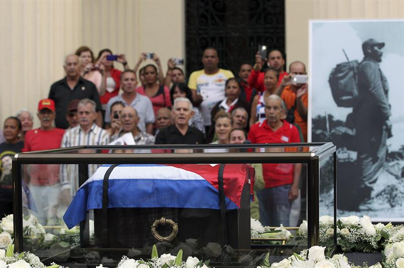 Cenizas de Fidel Castro serán inhumadas este domingo