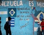 A mural in Caracas reads: 'Venezuela is Mercosur'