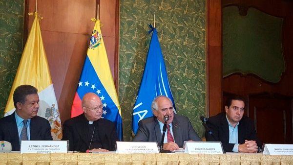 Samper dijo esperar que en el 2017 haya suficientes resultados positivos del diálogo.