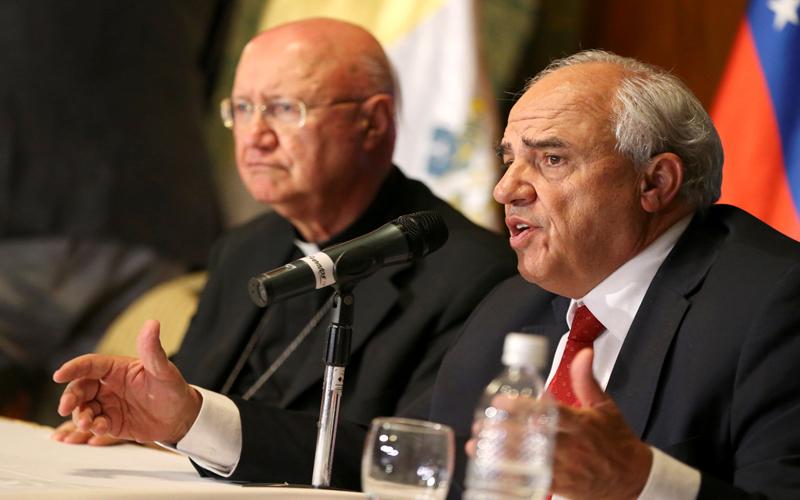 Samper: Por el bien de los venezolanos el diálogo debe seguir