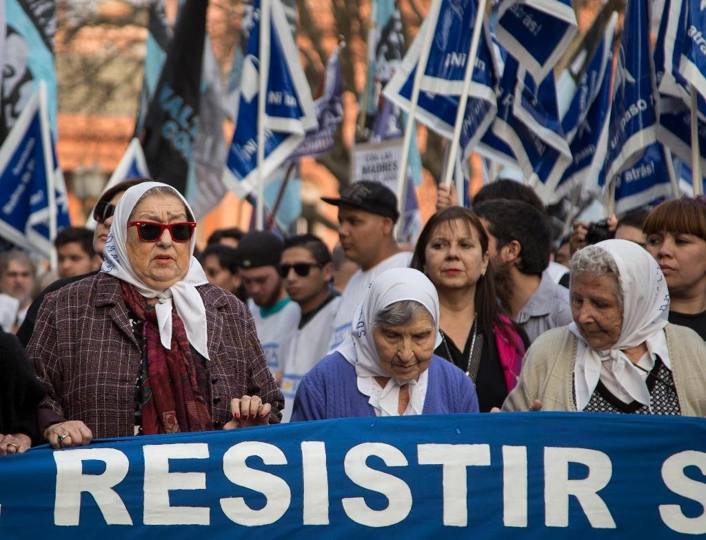 Madres de Plaza de Mayo realizan hoy Marcha de la Resistencia