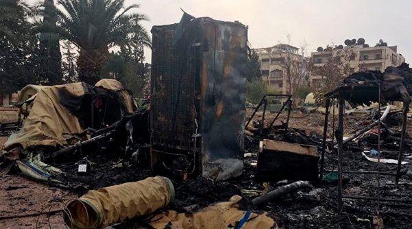 El Ministerio de Defensa ruso denunció que la operación ha sido llevada a cabo por la oposición siria y sus patrocinadores.