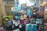 These toys will be redistributed to poor Venezuelan children for Christmas.