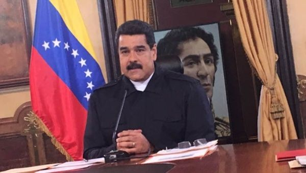 President Maduro speaks about measures to fight the economic war.