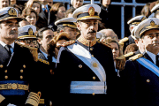 Former Argentina dictator General Jorge Rafael Videla at a military parade in Buenos Aires, 1978