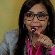Delcy Rodriguez.
