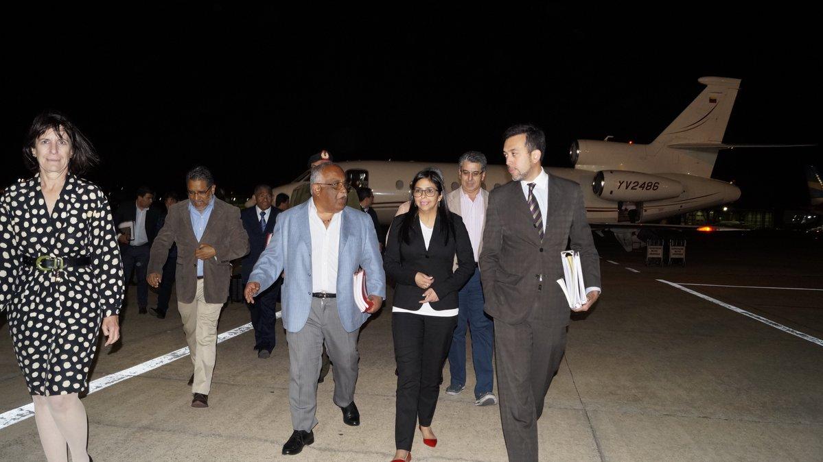 Canciller venezolana está en Argentina para reunión de Mercosur