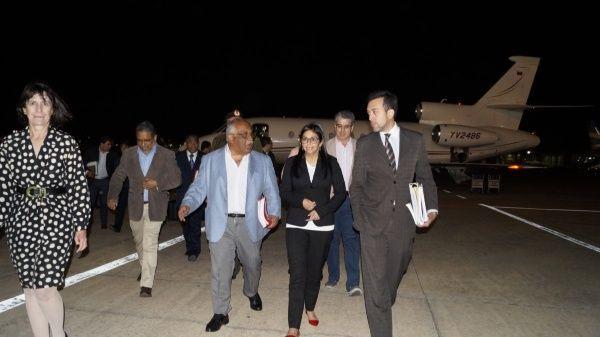 La ministra venezolana saludó además al pueblo argentino.