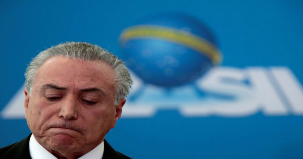 Embattled Brazilian President Michael Temer