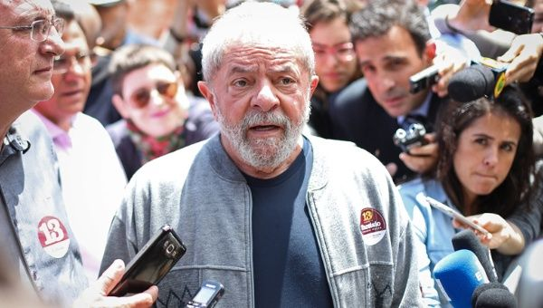 Lula is being charged for corruption in the Petrobras scandal.