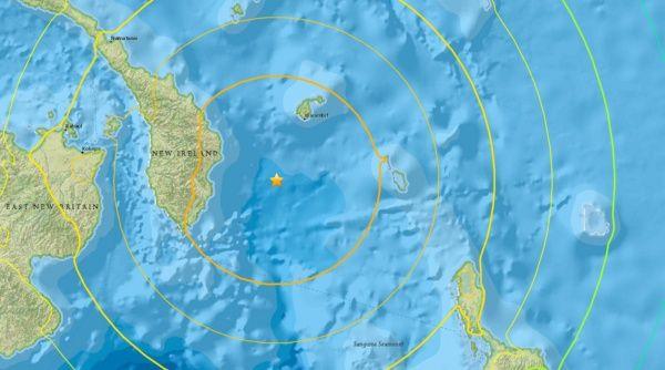 El pasado 8 de diciembre otro sismo, de 7,8,afectóla región y también hubo alerta de tsunami a los países allí localizados.