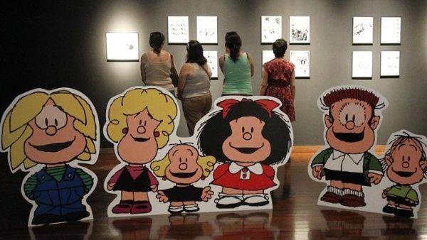 Editan a Mafalda en braille