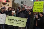 A December 2015 Jewish Voice for Peace rally in San Francisco