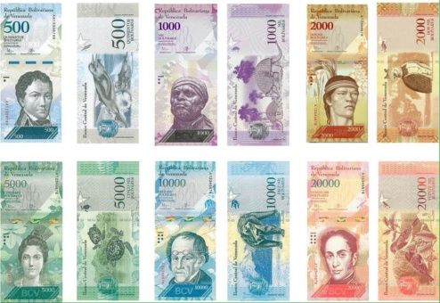 El billete de 500 bolívares forma parte del nuevo cono monetario.