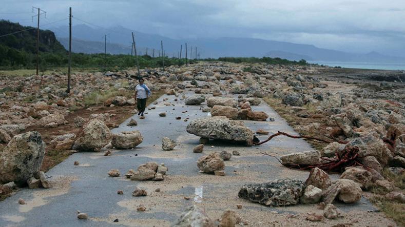 Matthew furacão atingiu Cuba em outubro.