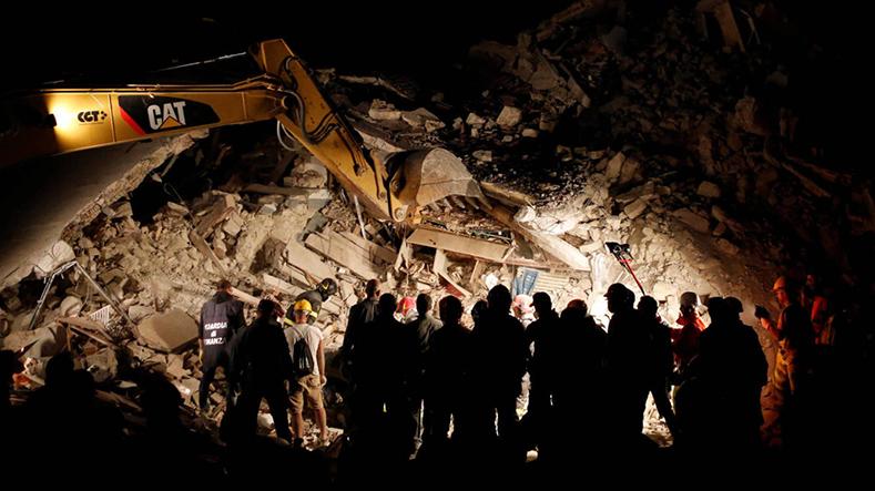 Pescara del Tronto, uma das vilas mais devastadas da Itália pelo terremoto, em agosto de 2016.