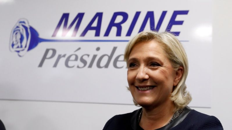 Marine Le Pen is becoming increasingly popular in France as anti-immigrant sentiment grows across Europe.