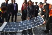 French Environment Minister Segolene Royal (C)