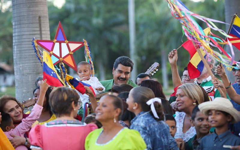 Presidente de Venezuela: Que la Navidad traiga paz y felicidad a la Patria