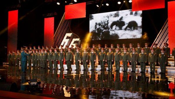 El Coro del Ejército Rojo se dirigía a Siria para dar un concierto.