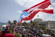 Protests in Puerto Rico against the U.S. Federal Control Board arguing that it serves like an overlord of the island.